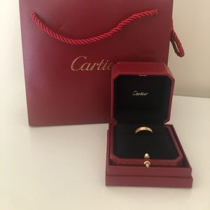 Cartier love band- size 58